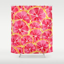 Tropical Citrus Shower Curtain
