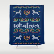 Whatever Shower Curtain