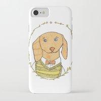 dachshund iPhone & iPod Cases featuring Dachshund by MariyArti