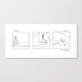 puddle Canvas Print