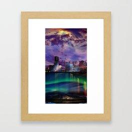 Surreal Cityscape Framed Art Print