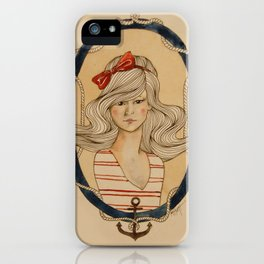 Nautical Nonsense iPhone Case