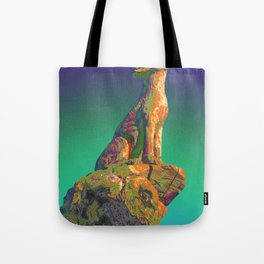 Coyote Call Tote Bag