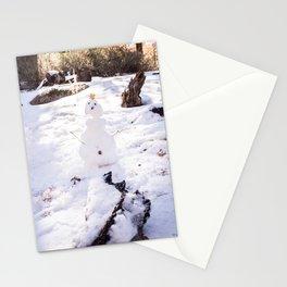 Tiny Snowman Stationery Cards