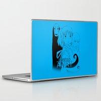 ghibli Laptop & iPad Skins featuring Spirited Away - Ghibli by KanaHyde