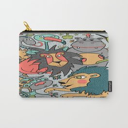 animals are cool Carry-All Pouch