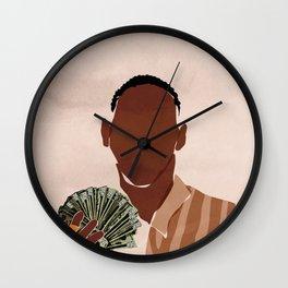 I am a Rich Man Wall Clock