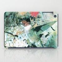 hummingbird iPad Cases featuring Hummingbird by RIZA PEKER