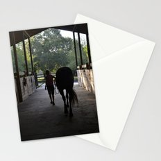 leading the way out Stationery Cards