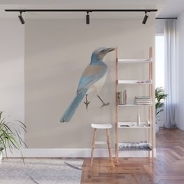 Poly Bird 1 Wall Mural