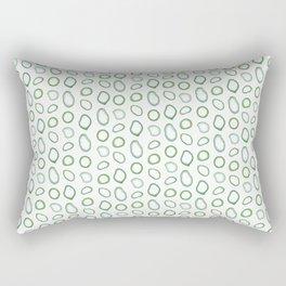 Onion rings pattern Rectangular Pillow