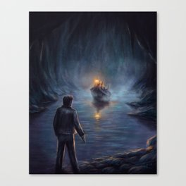The Shores of the Styx Canvas Print