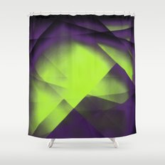 Purple Color Package Shower Curtain