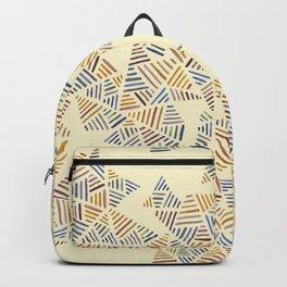 Earthtone Pyramids Backpack