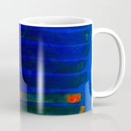 Midnight Blue Lava Lines, Our Earth Burn Marks Coffee Mug