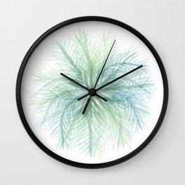 palm star - soft Wall Clock