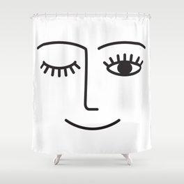 Wink Shower Curtain