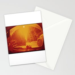 Caught in the Car in Manhattan Traffic  Stationery Cards