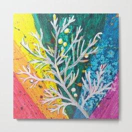 Leaves on the World Tree: Balochis Juniper Metal Print