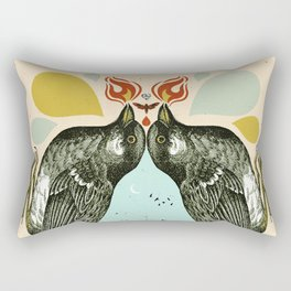 INDUSTRIAL BIRD LANTERN Rectangular Pillow