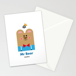 Mr Bear Stationery Cards
