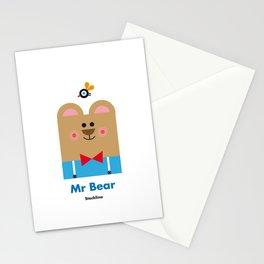 Mr Bear Stationery Cards