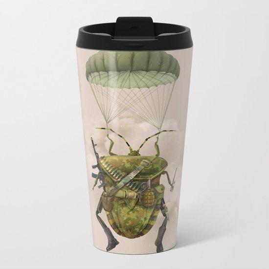 Military Metal Travel Mug