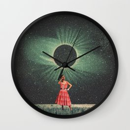 Total Eclipse of You Wall Clock