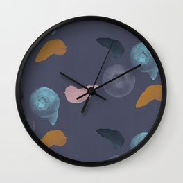 Blueberries 2 Wall Clock
