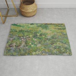 Long Grass with Butterflies Rug