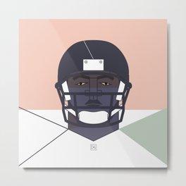 football player 01 Metal Print