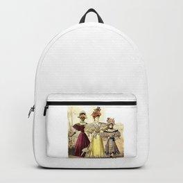 Victorian Ladies Vintage Design Backpack