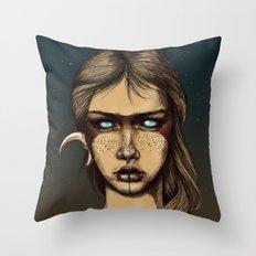 Nocturnal Warrior Throw Pillow