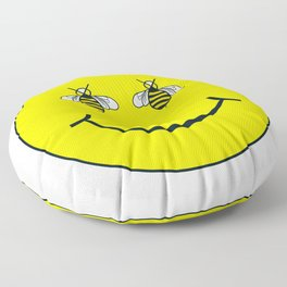 Bee happy Floor Pillow