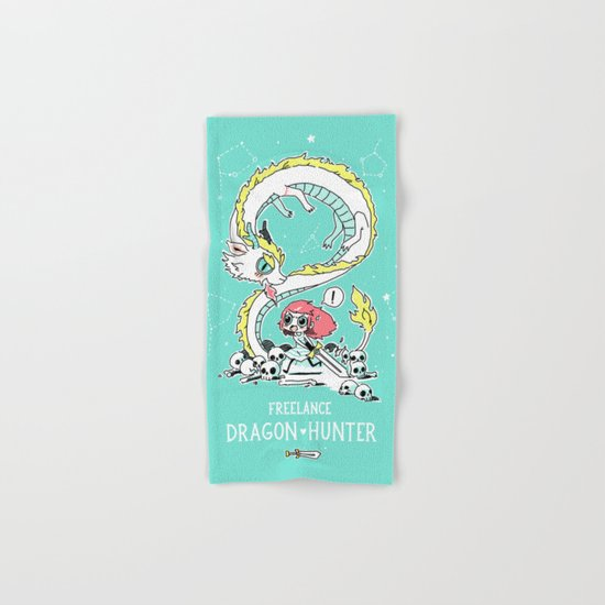 Dragon Hunter Hand & Bath Towel