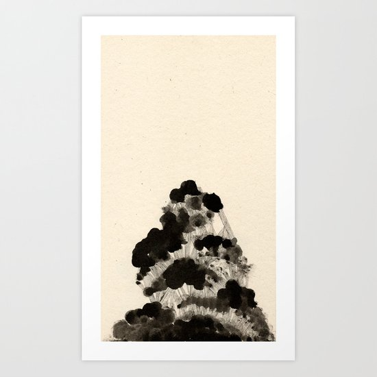Sedate One Art Print