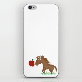 Horse Food iPhone Skin
