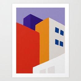 Urban Block Art Print