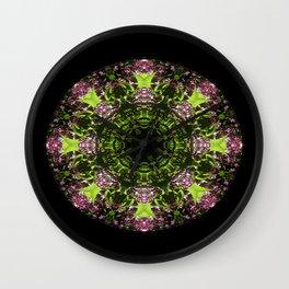 Lilacs delight... Wall Clock