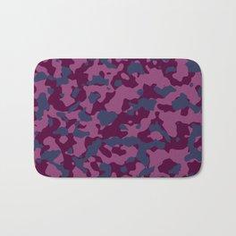 Berry Pretty Camouflage Bath Mat