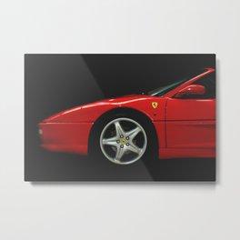 Ferrari F355 Spider  Metal Print