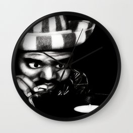 Reggae DJ Wall Clock