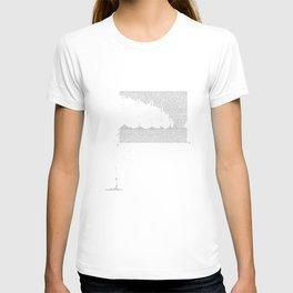 Erosion & Typography 3 T-shirt