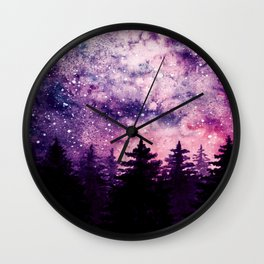 Magical Forrest Wall Clock