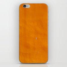 Orange Wall iPhone & iPod Skin