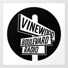 Vinewood Boulevard Radio Art Print