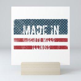 Made in Scioto Mills, Illinois Mini Art Print