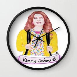 Unbreakable Kimmy Schmidt - Ellie Kemper Wall Clock