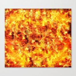 Inferno Canvas Print
