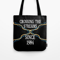 Crossing The Streams Since 1984 Tote Bag